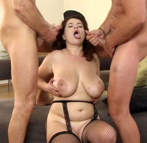 Vicky Soleil – Tag-Team Fuck for A French Maid