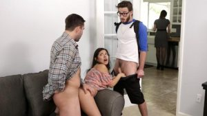 Jasmine Gomez – Step Family Threesome