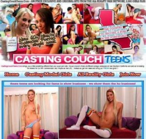 Casting Couch  Teens -Megapack