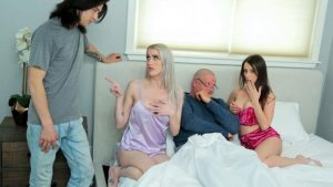 Charly Summer, Katie Monroe-Taking Care Of Swap Dad On Fathers Day – S3 E4